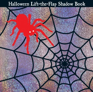 Lift the Flap Shadow Book Halloween Cover