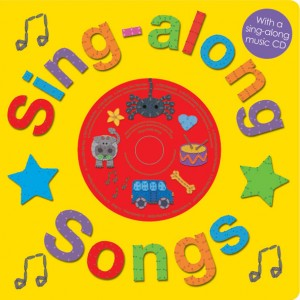 Priddy Books Sing-along Songs Cover with CD
