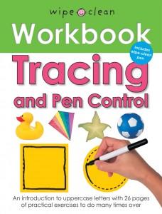 Priddy Books Wipe Clean Workbook Tracing & Pen Control