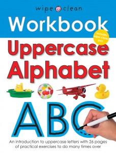 Priddy Books Wipe Clean uppercase Alphabet