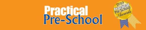Practical pre-school awards banner