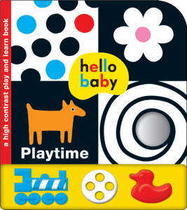 Priddy Books - Hello Baby Play and Learn Playtime