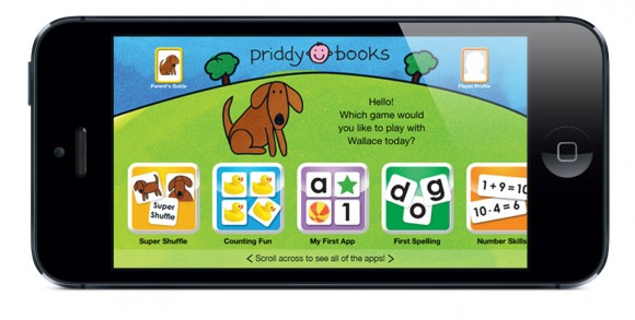 Priddy Books - Play and Learn with Wallace