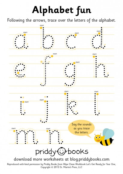 Printables Print Worksheet download and print worksheets priddy books worksheet year one alphabet fun