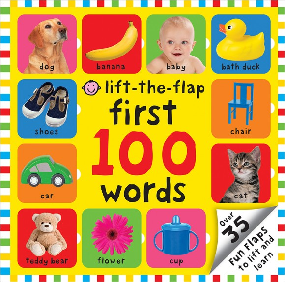 Priddy Books - Lift-The-Flap First 100 Words