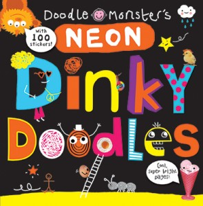 Neon dinky doodles cover
