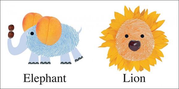 Alphaprints Animals Spread 1