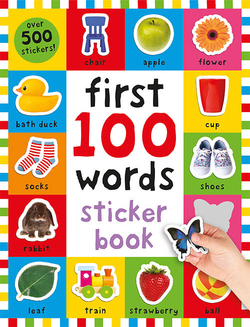 First 100 Sticker: Words