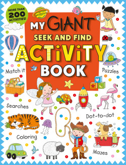 My Giant Activity Book FRONT