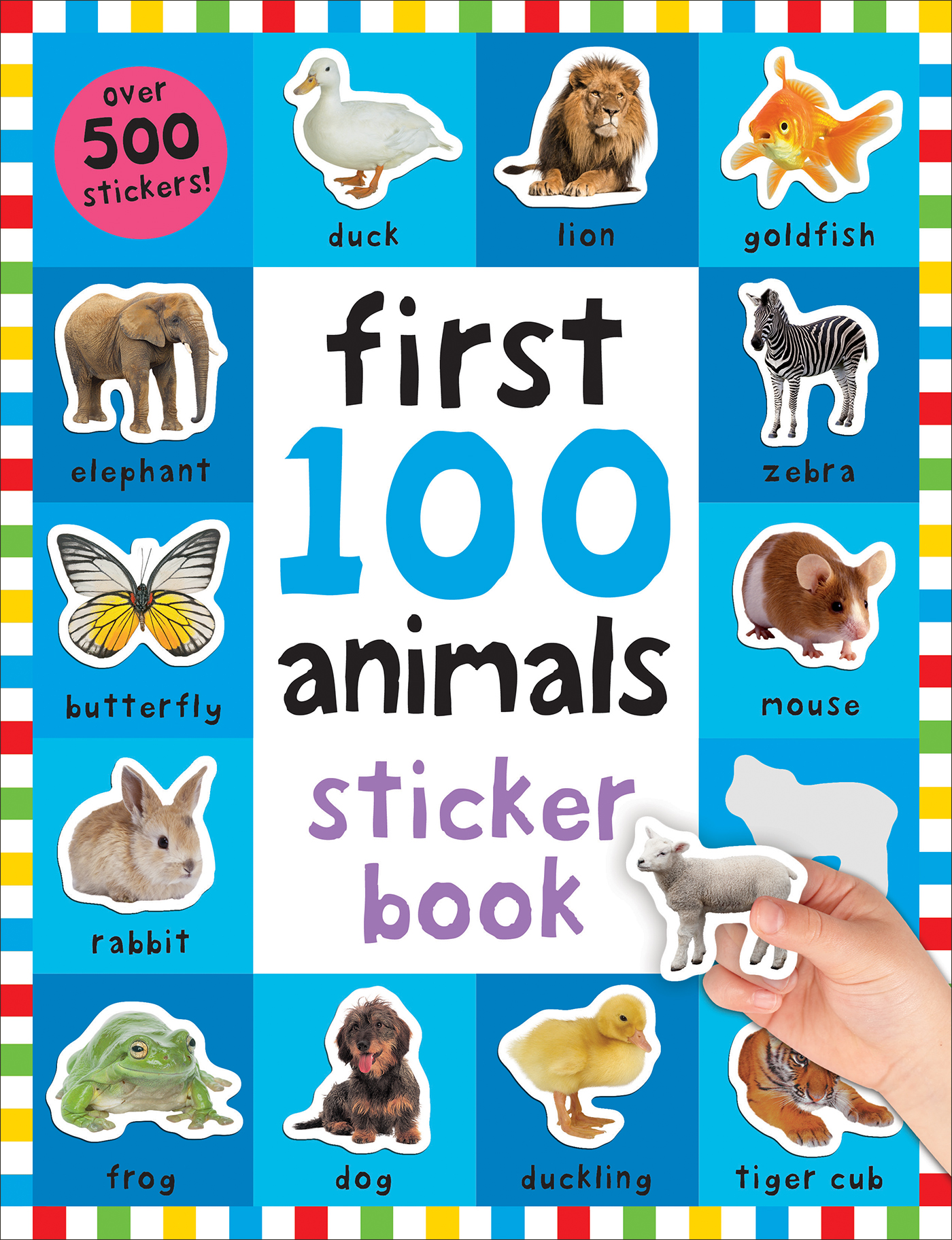 First 100 Sticker: Animals