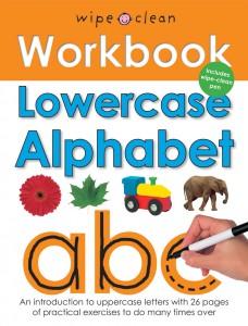 Priddy Books wipe clean Work Book Lowercase Alphabet