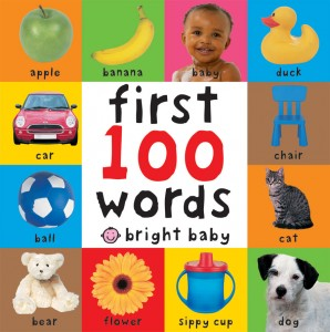 priddy books first 100 words cover