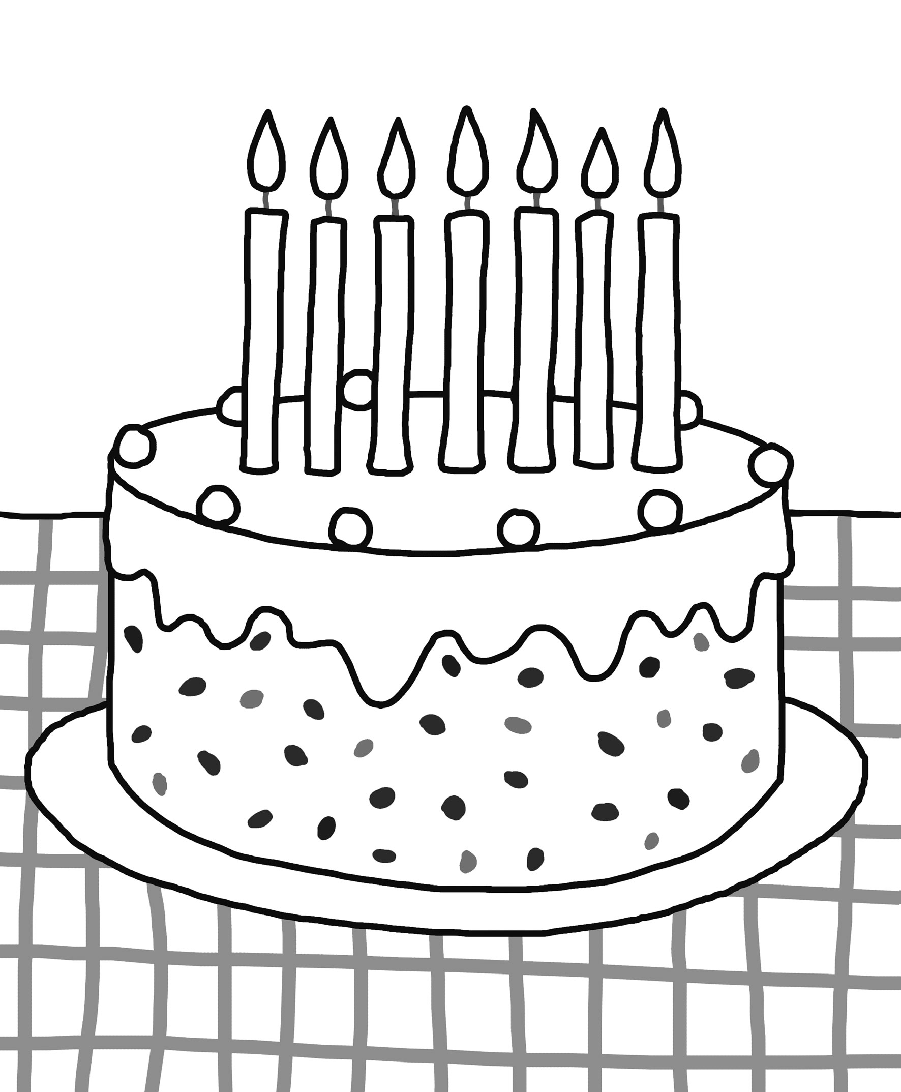 - Download And Print: Birthday Colouring Pages - Priddy Books