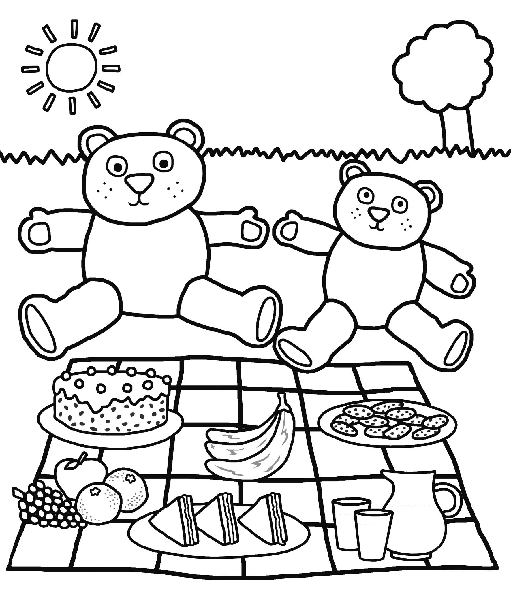 Download and print: Birthday colouring pages - Priddy ...