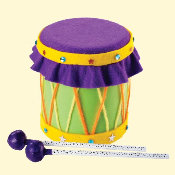 Craft Activity Make A Musical Drum Priddy Books Priddy Books