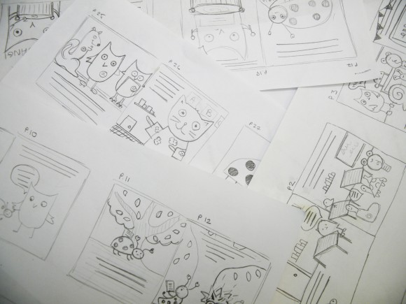 Priddy Books - Schoolies Storyboards