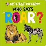 My First Peekaboo Who says roar Cover