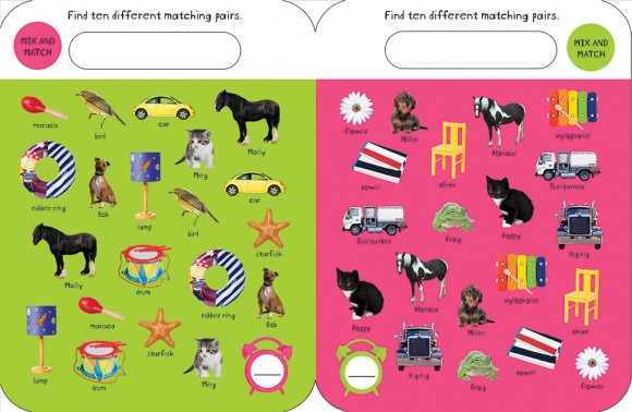 WC Early Learning Fun Match-it! Spread 4