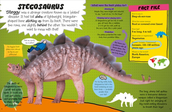 Dino Bites Spread 3