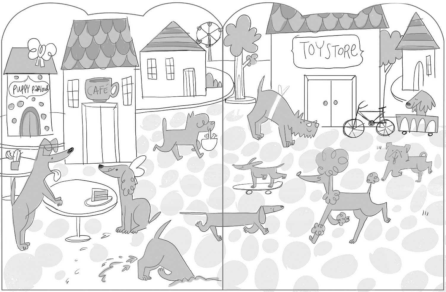 Sticker Friends Puppy spreads.indd