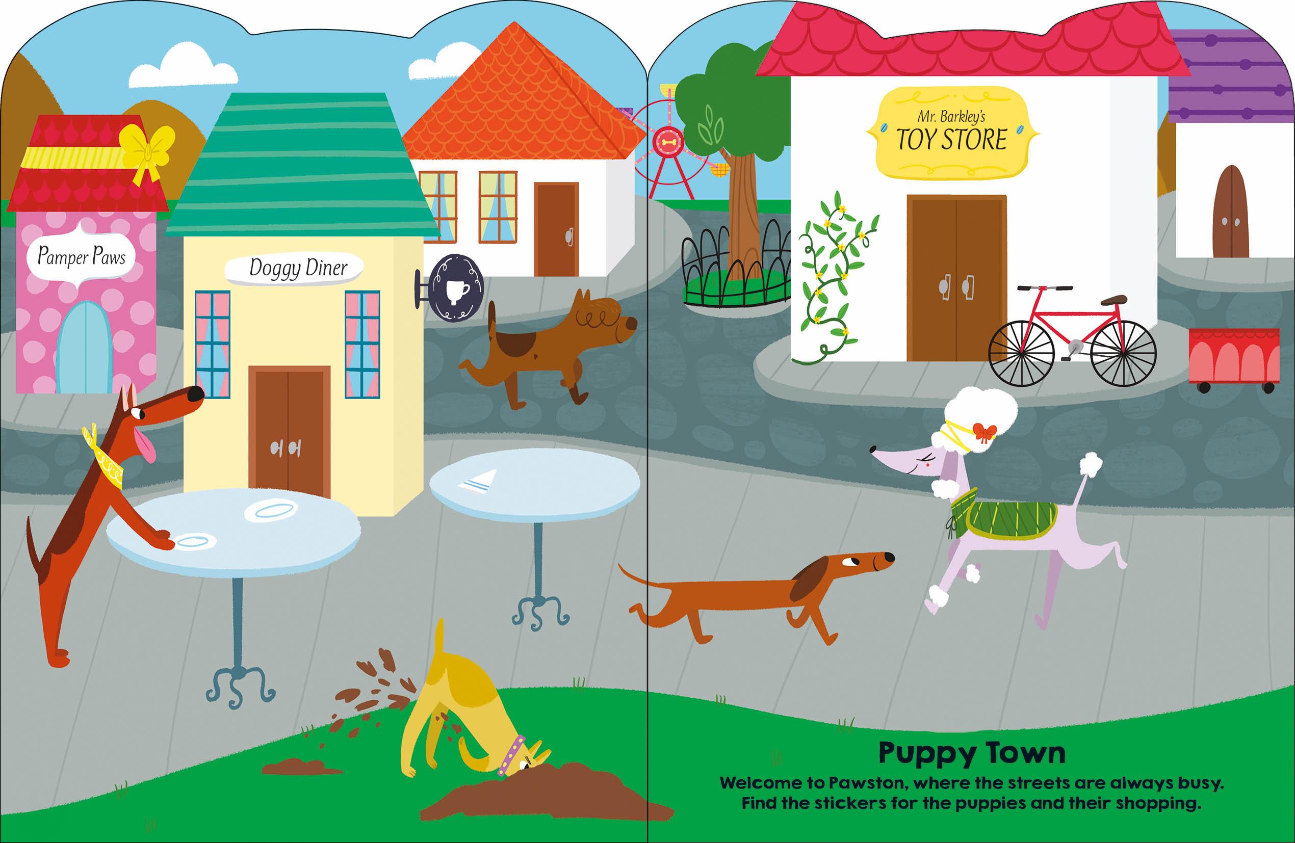 Sticker Friends puppy_6