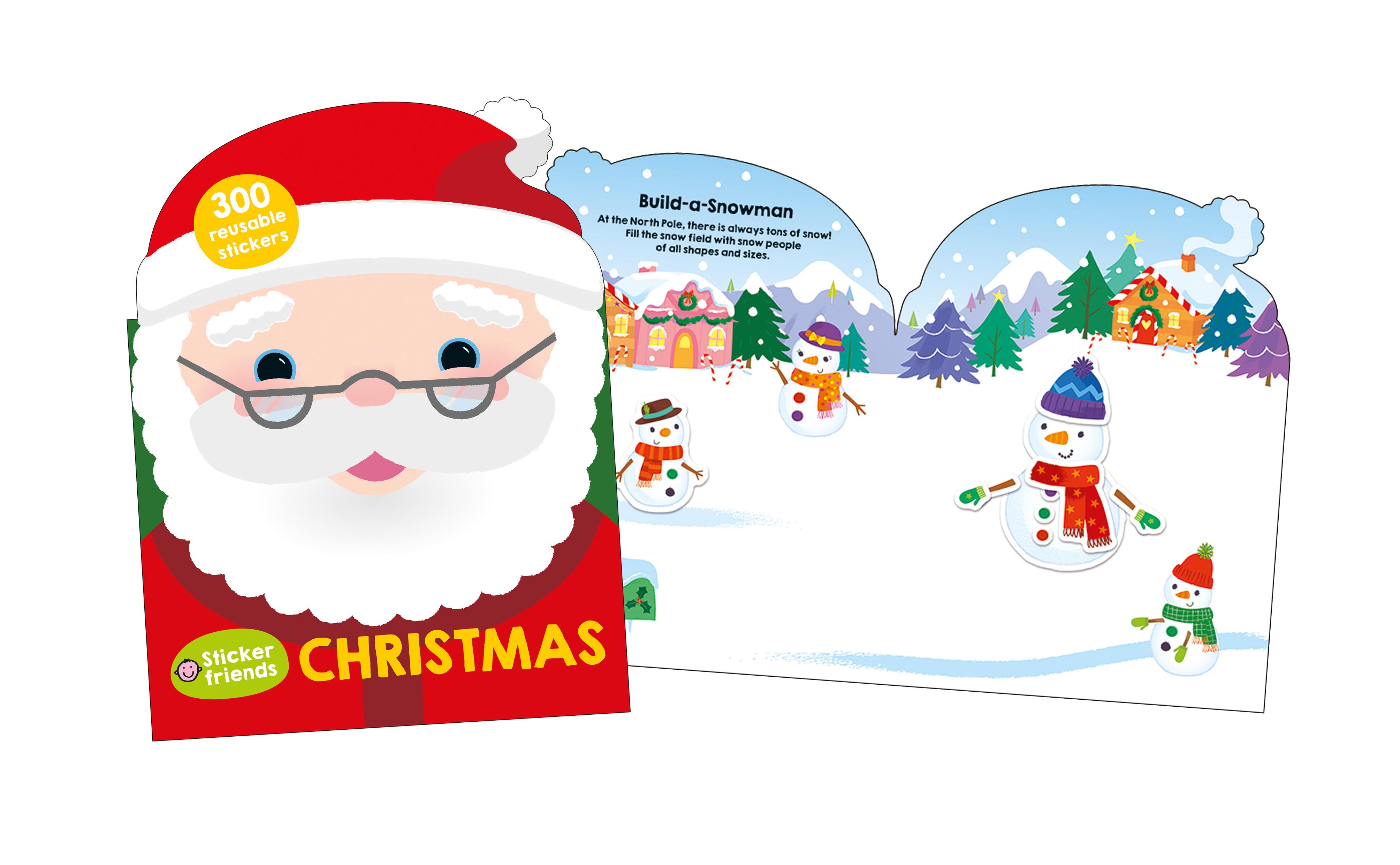3-sticker-friends-christmas